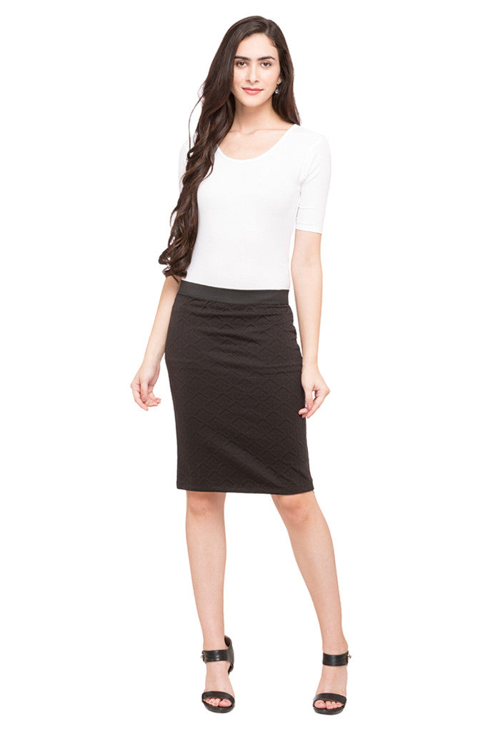 Straight Fit Skirt-5