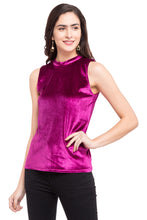 Load image into Gallery viewer, Turtle Neck Sleeveless Top-1
