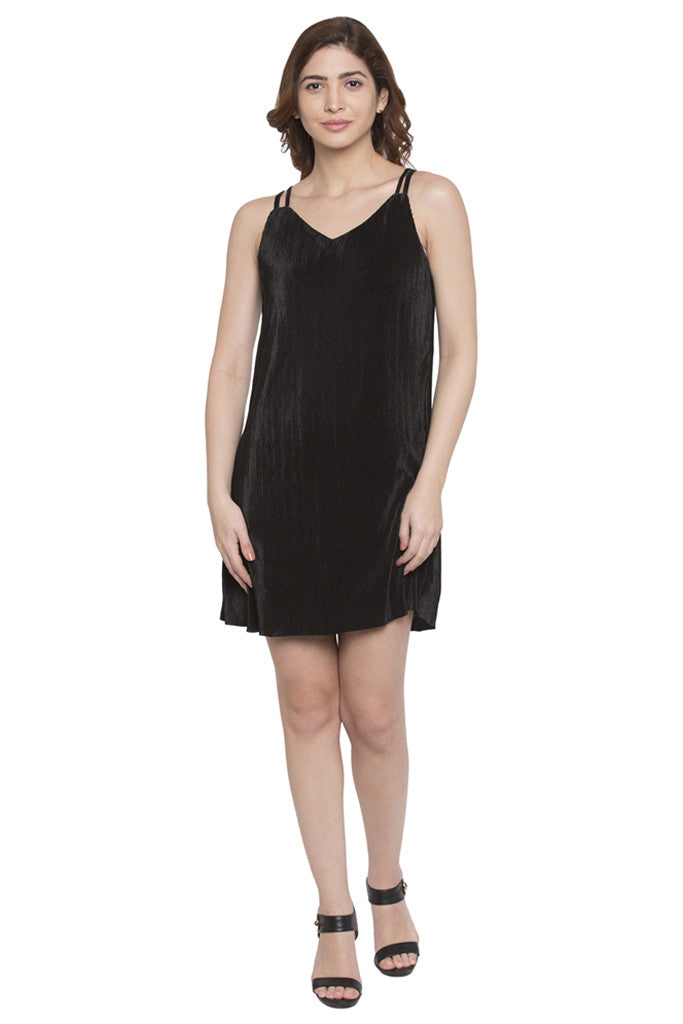 Knee Length Slip Dress-1