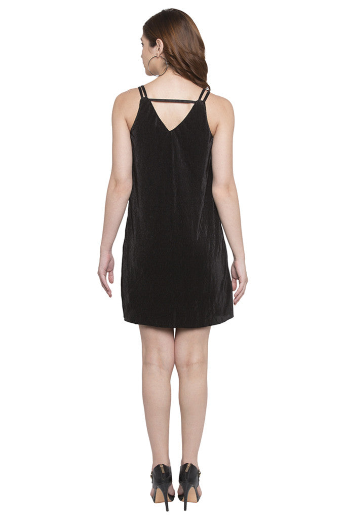 Knee Length Slip Dress-3
