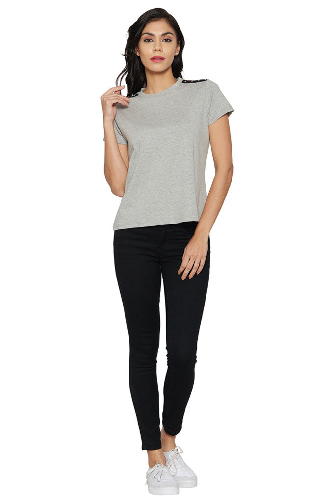 Grey Boxy T-shirt-5