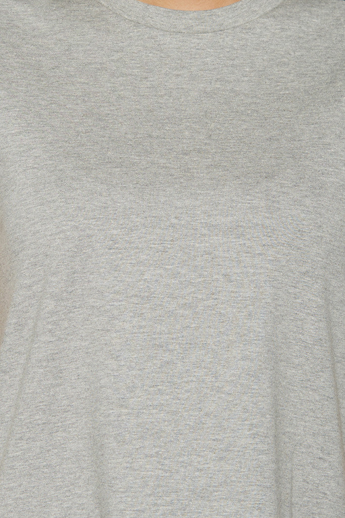Grey Boxy T-shirt-6