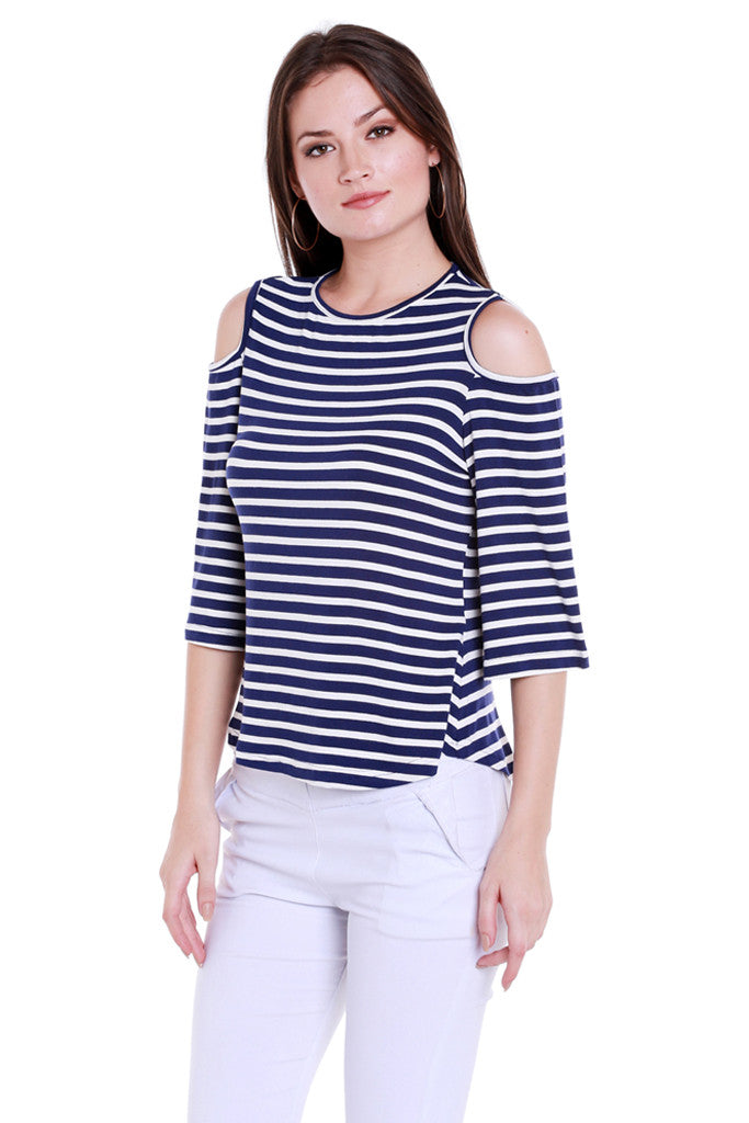 Back Focus Stripe Top-2