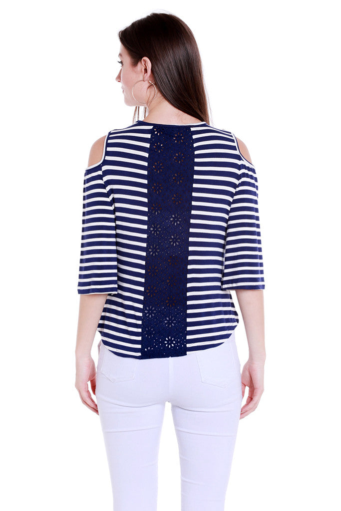 Back Focus Stripe Top-3