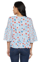 Load image into Gallery viewer, Blue Bell Sleeve Top-3