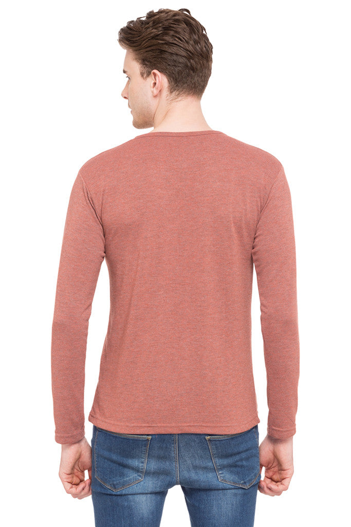 Henley Neck T-shirt-3