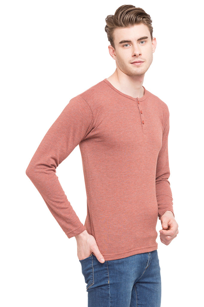 Henley Neck T-shirt-4