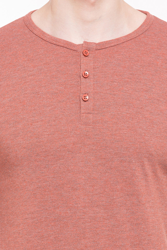 Henley Neck T-shirt-6