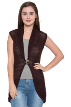 Load image into Gallery viewer, Knitted Lapel Collar Shrug-1