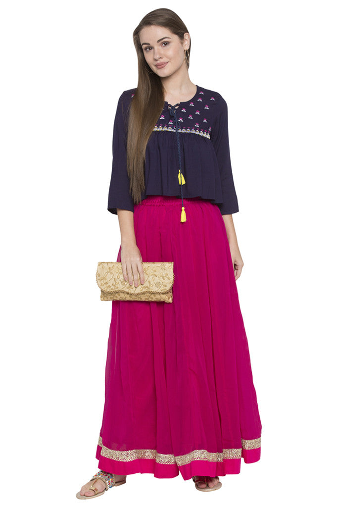 Ethnic Long Skirt-2
