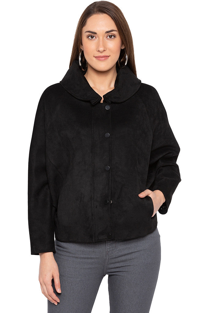Black Welt Pocket Jacket-1