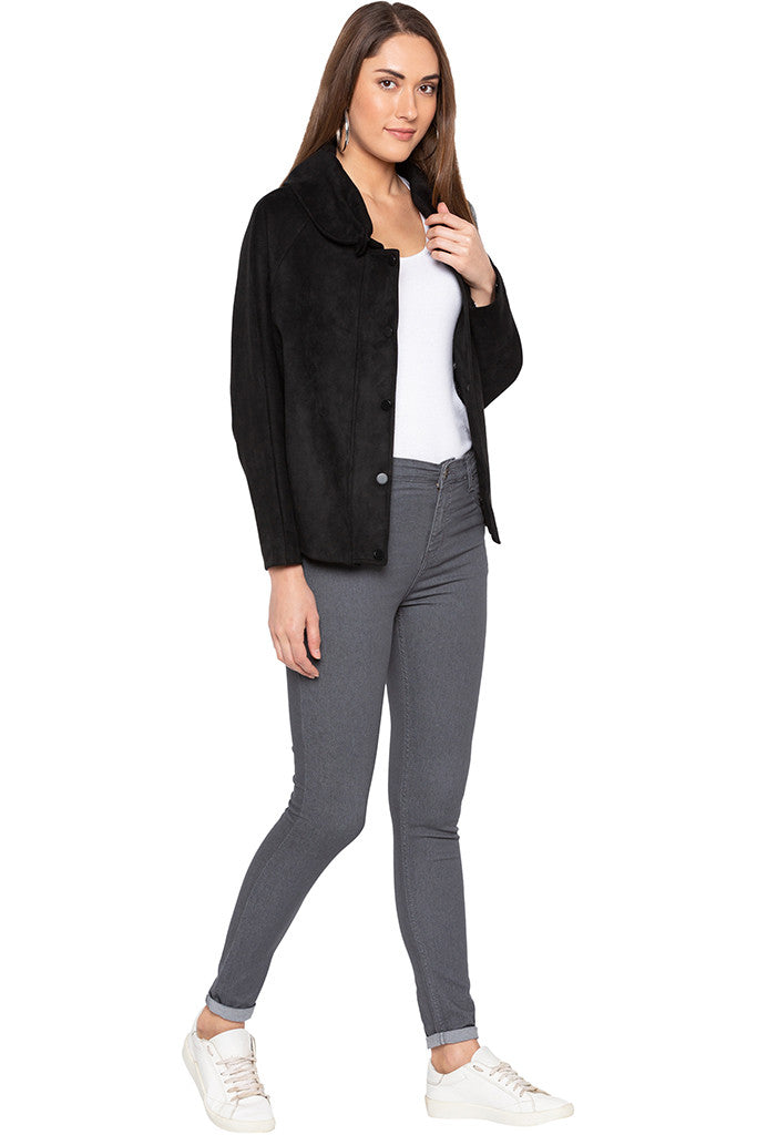 Black Welt Pocket Jacket-2