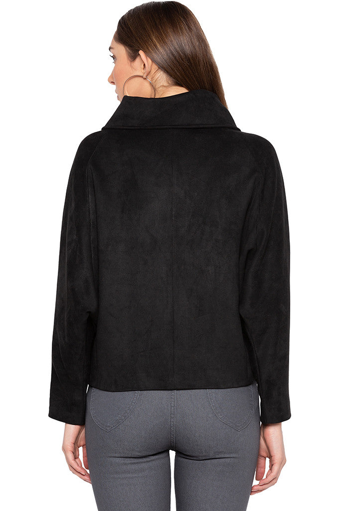 Black Welt Pocket Jacket-3
