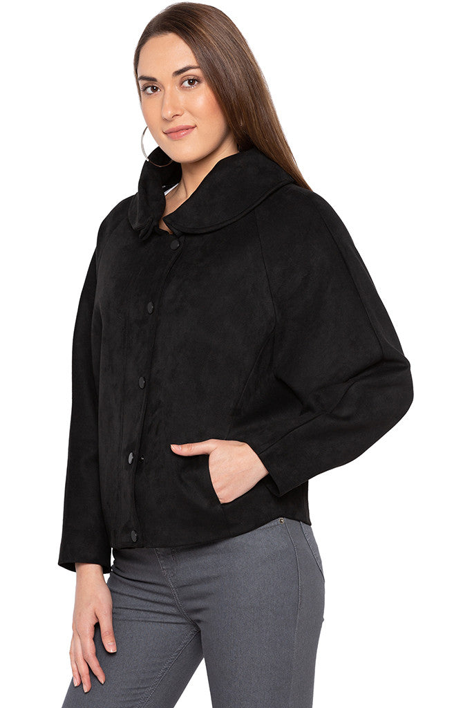 Black Welt Pocket Jacket-4