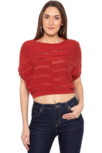Load image into Gallery viewer, Brickrust Cropped Pullover-1