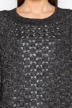 Load image into Gallery viewer, Black Raglan Sleeve Pullover-5