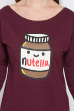 Load image into Gallery viewer, Nutella Print Sweatshirt-5