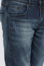 Load image into Gallery viewer, Slashed Knee Slim Fit Denims-5