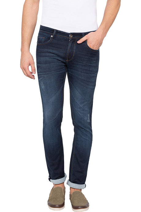 Slim Fit Dark Indigo Denims-1