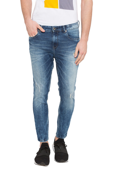 Cloud Wash Carrot Fit Denims-1