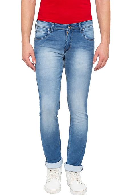 Slim Fit Light Indigo Denims-1