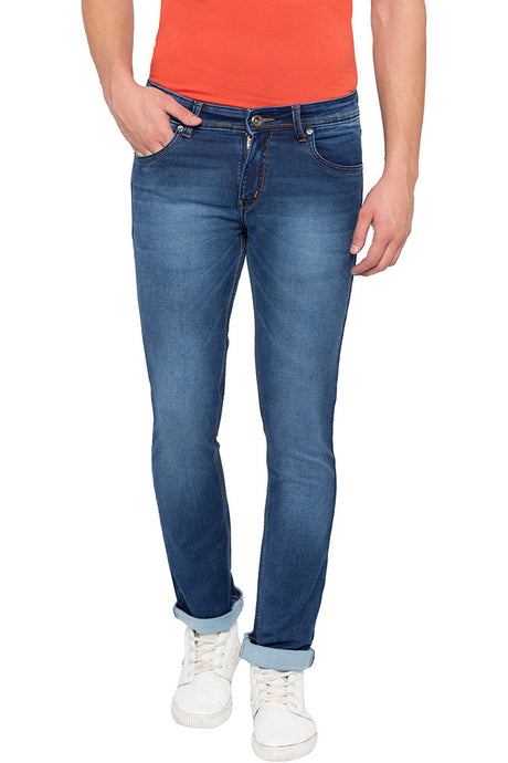 Slim Fit Indigo Denims-1