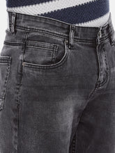 Load image into Gallery viewer, Grey Regular Fit Mid-Rise Clean Look Jeans-5