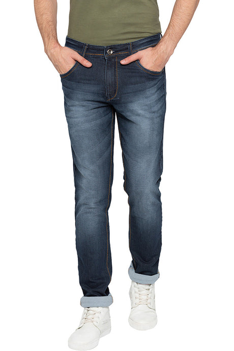 Dark Wash Slim Fit Denims-1
