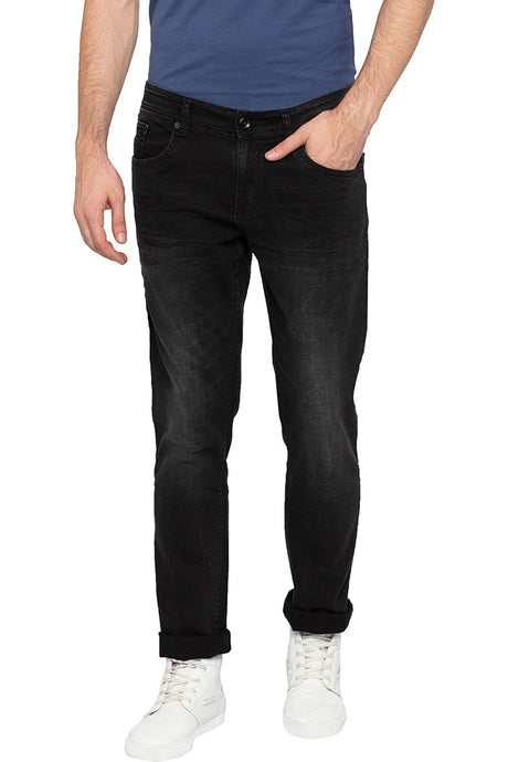 Low Rise Slim Fit Denims-1