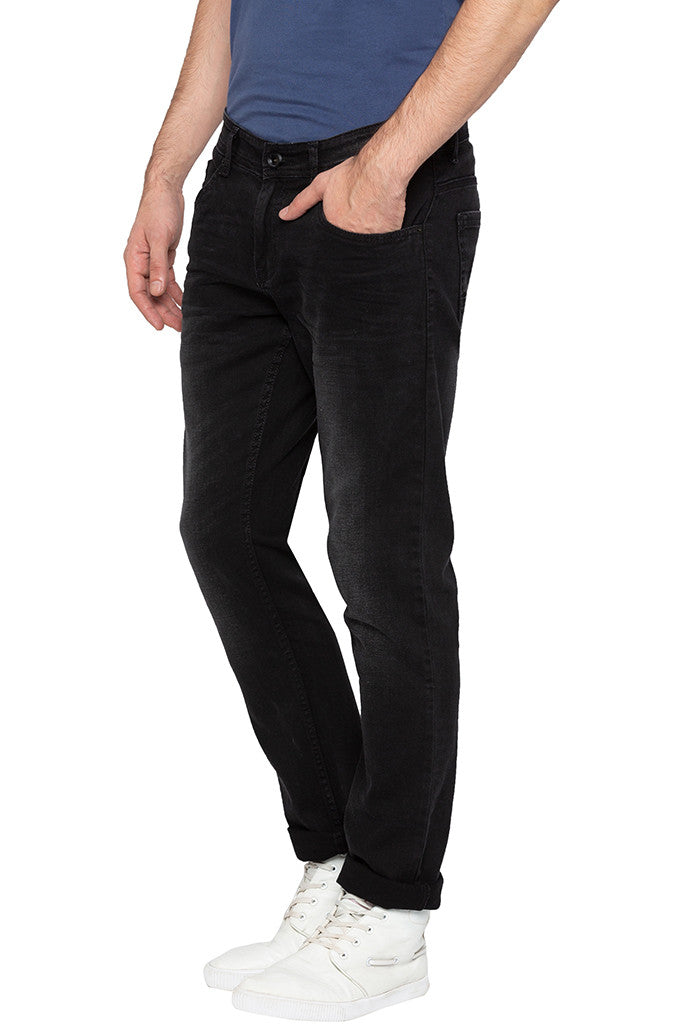 Low Rise Slim Fit Denims-4