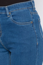 Load image into Gallery viewer, Blue Sknny Fit Denims-5