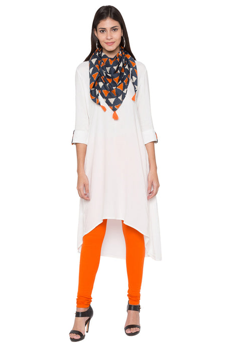 High Low Designer Kurta-1