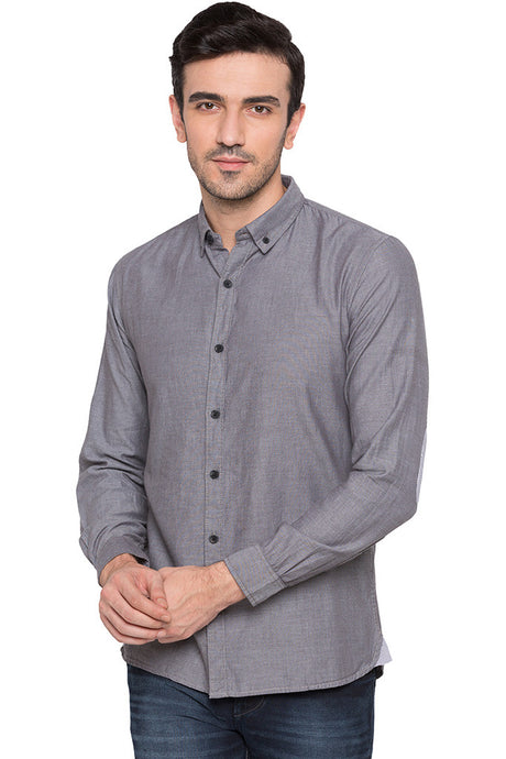 Slim Fit Casual Shirt-1