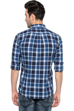 Load image into Gallery viewer, Checked Casual Slim Fit Shirt-3