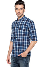 Load image into Gallery viewer, Checked Casual Slim Fit Shirt-4