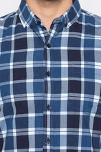 Load image into Gallery viewer, Checked Casual Slim Fit Shirt-5