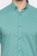 Load image into Gallery viewer, Micro Ditsy Print Casual Shirt-5