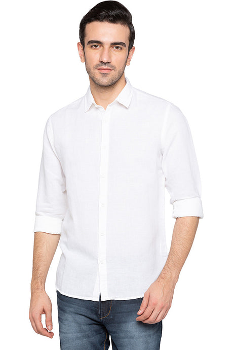 Solid Casual Shirt-1