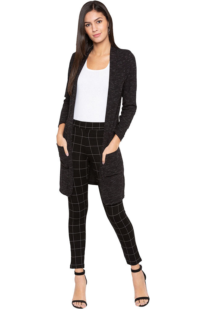 Checked Jeggings-2