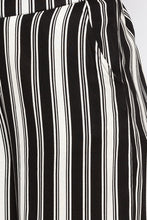 Load image into Gallery viewer, White Striped Flared Trousers-5