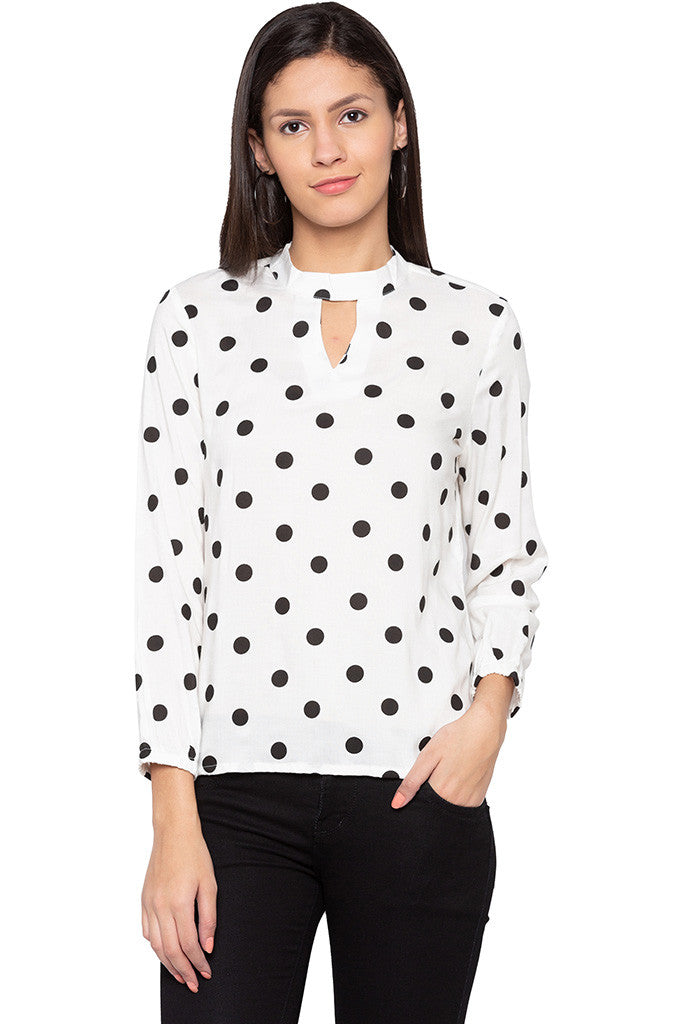 Polka Dot Top-1