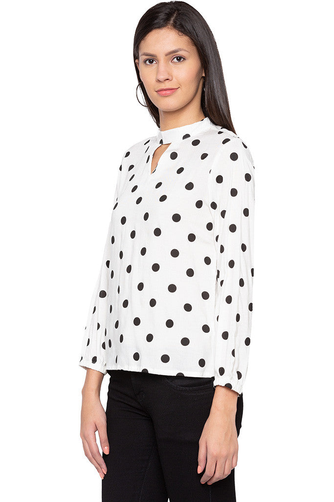 Polka Dot Top-4