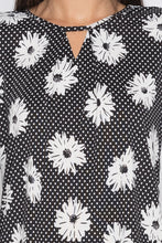 Load image into Gallery viewer, Floral Print Bell Sleeve Top-5