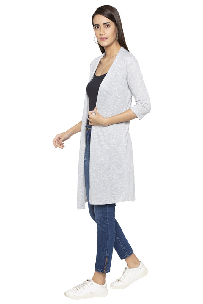Knee Length Duster Shrug-4