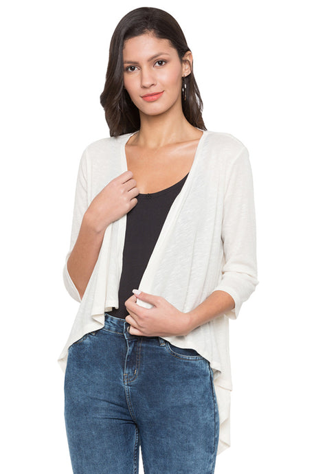 Waterfall Solid Shrug-1