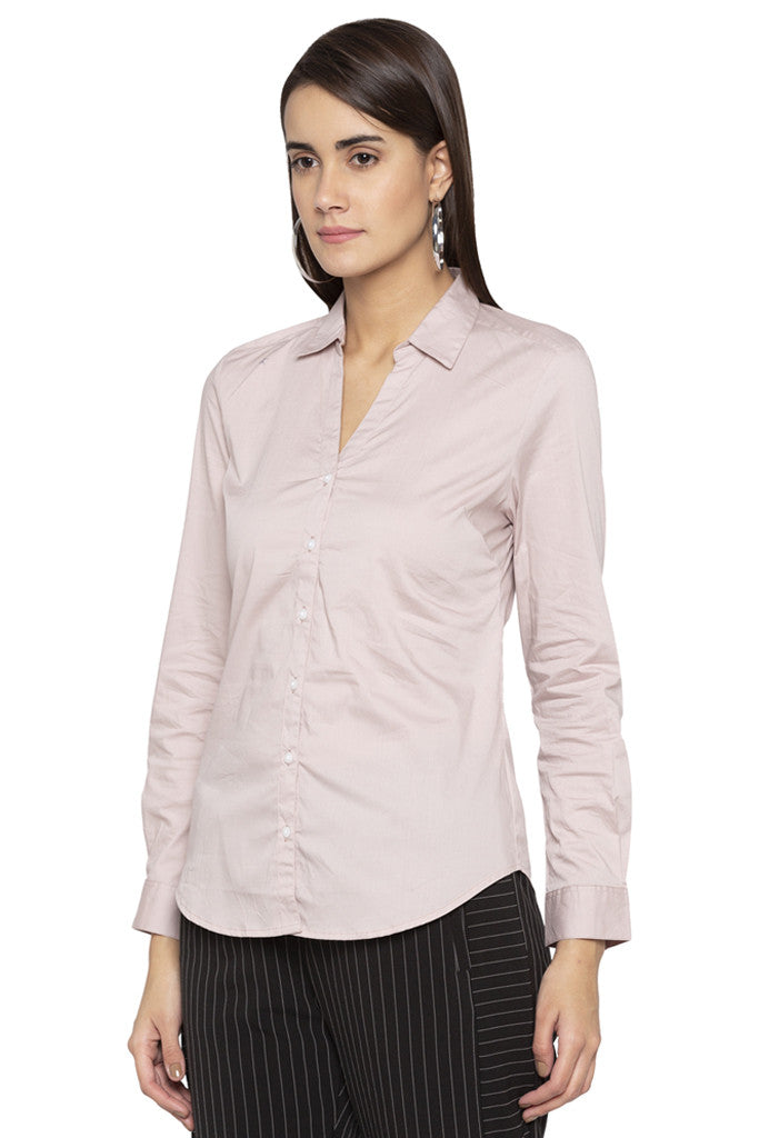 Solid Casual Shirt-4