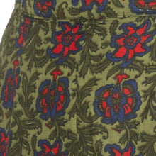 Load image into Gallery viewer, Green Printed Skirts-5
