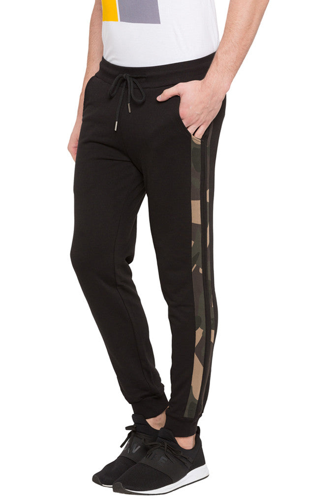 Printed Side Tape Joggers-4