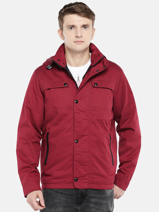 Red Solid Bomber-1