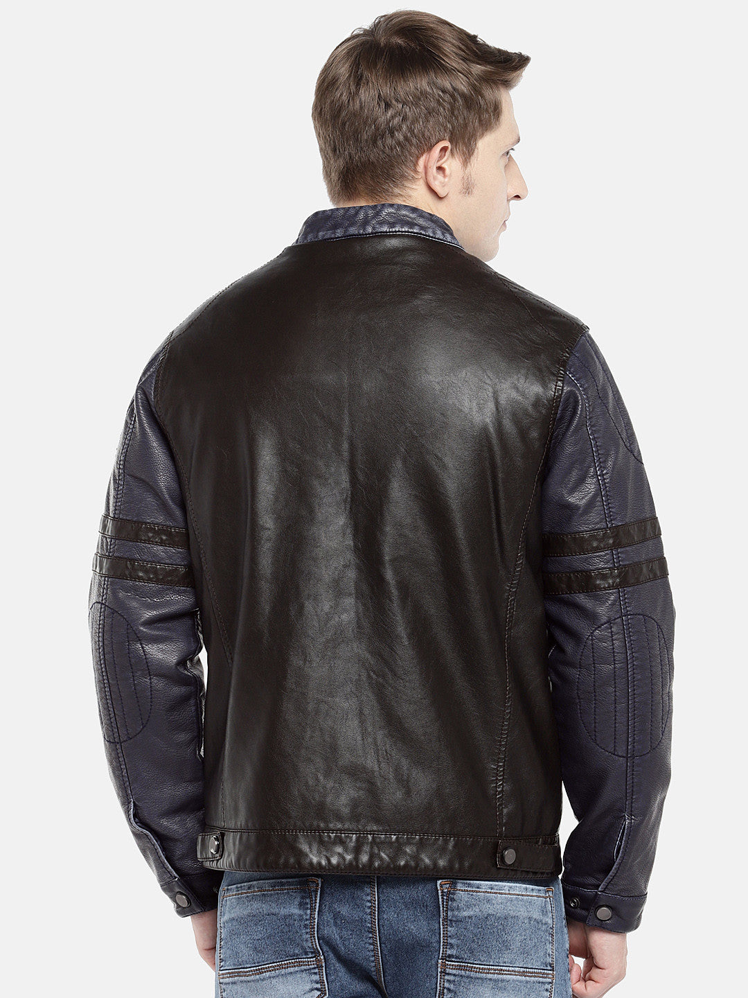Black Solid Bomber-3